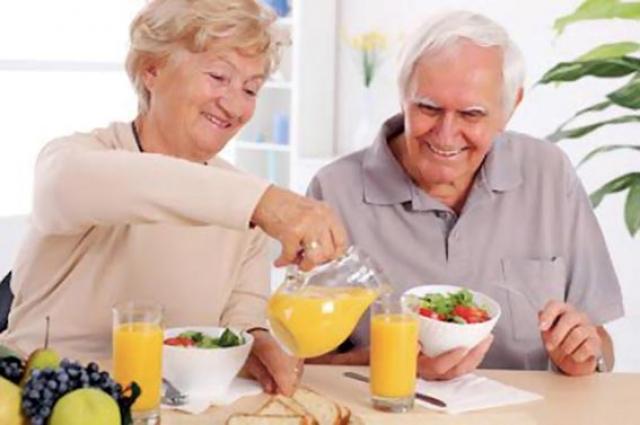 As refeições na fase moderada da demência