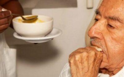 Cerca de 7% dos idosos em lares estão mal nutridos